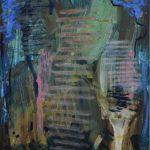EU.GENUS, Tri kúpajúce sa ženy Karola Šmehyla, 2019, 170 x 116 cm